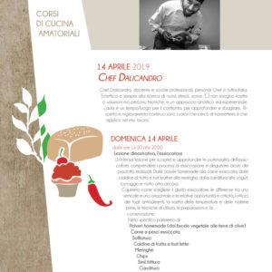 Corso di cucina Chef Dalicandro