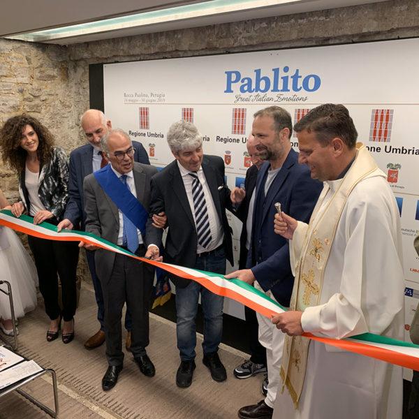 inaugurazione del calciatore Paolo Rossi presso la Rocca Paolina a Perugia - 16